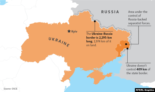 Ukraine And Russia Map.Ukraine S European Rampart Risks Getting Lost In The Trenches
