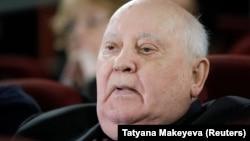 Бұрынғы СССР-дің экс-президенті Михаил Горбачев. Мәскеу, 8 қараша 2018 жыл.