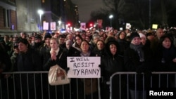 Protesti u New Yorku protiv Donalda Trumpa