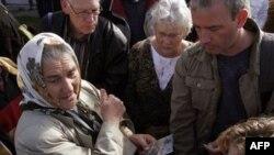 Susret Srebreničanki i bivših vojnika nizozemskog kontingenta UN snaga iz vremena pada Srebrenice, 17.10.2007