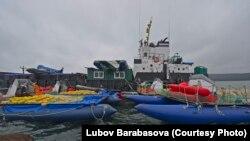 Флотилия отловщиков