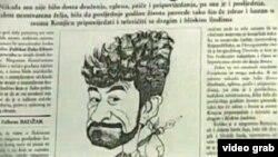Karikatura Zulfikara Zuke