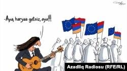 Azərbaycan-AB münasibətləri, siyasi karikatura