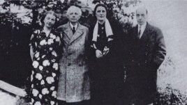 Bela Bartok și Constantin Brăiloiu la Budapesta în 1937