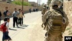 U.S. Marines on patrol in Haditha in 2007.