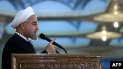 Иран президенті Хасан Роухани. Тегеран, 3 маусым 2015 жыл. (Көрнекі сурет)