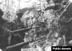 Португальские солдаты в Анголе, 1972 год