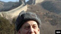 نخست وزیر اسراییل در سفر اخیر خود به چین، پیش از هر چیز از دیوار معروف چین دیدن کرد.