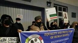 Нохчашна депортаци ярна дуьхьал Венехь хIоттийна митинг