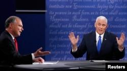 Tim Kaine i Mike Pence razmijenili najžešće riječi na račun kandidata za predsjednika SAD