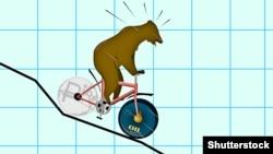 Падение рубля. Иллюстративное фото. ©Shutterstock