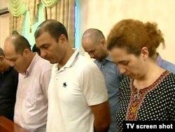 Türkmenistanyň Merkezi bankynyň jogapkär işgärlerine garşy sud diňlenişiginde, 28-nji iýul.