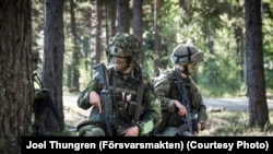 Ілюстративне фото. Шведські десантники