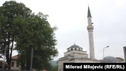Ferhadija kimi tanınmış Ferhat Paşa Məscidi, Banja Luka, 23Sep2015, 5May2016
