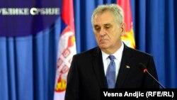 Српскиот претседател Томислав Николиќ