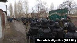 На кыргызско-таджикской границе