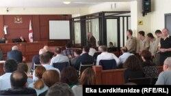 Судебное заседание по делу батумских чиновников (архив)