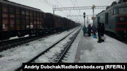 Ілюстраційне фото. Залізнична станція Калинівка, Вінницька область, лютий 2017 року