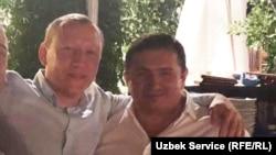 "Ravšan ""Zolotoj"" Muhidinov (levo) i Nadir Salifov, zvani ""Lotu Guli"""