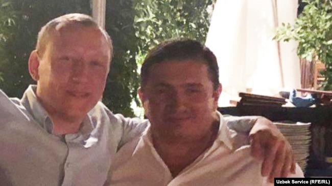 Раван Мухиддинов и Надир Салифов.