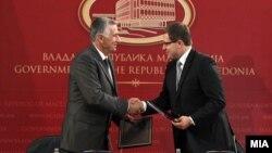 Министерот Панче Кралев и министерот за цивилни работи на БиХ Средоје Новиќ потпишаа Меморандум за соработка меѓу двете држави