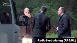 Працівники УДО очікують на гостей неформальної зустрічі фракції БПП з президентом Порошенком