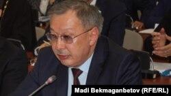 Заместитель министра внутренних дел Казахстана Рашид Жакупов.