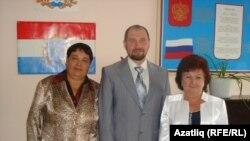 """""""Яктылык"""" мөдирләре: Харидә Дашкина, Радик Газизов, Дания Әбдрәхимова"""