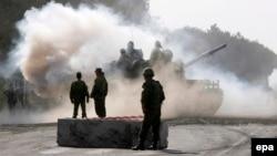 Гори, 2008 год. Последний раз российские танки покидали территорию России во время вторжения в Грузию