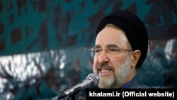 Former Iranian president Mohammad Khatami, undated