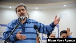 محسن قهرمان، مدیر عامل شرکت پدیده شاندیز، در دوازدهمین جلسه دادگاه در ۲۰ خرداد ۹۸