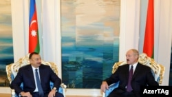 ільхам Аліеў і Аляксандар Лукашэнка, архіўнае фота.