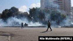 إشتباكات في محيط فندق سمير أميس بالقاهرة