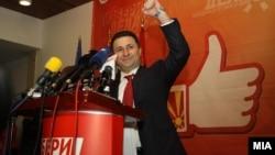 Никола Груевски, премиер на Македонија.