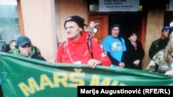 Učesnici trodnevnog pohoda pješačili su od Travnika do Kotor Varoši