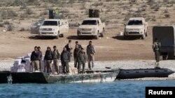نیروهای دمکراتیک در کرانه فرات
