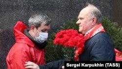 Лідер КПРФ Геннадій Зюганов (праворуч)