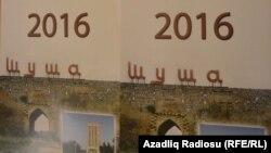 Hungury - calendar published by Azerbaijani embassy