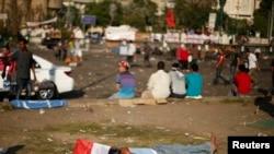 Акции протеста в Каире на площади Тахрир