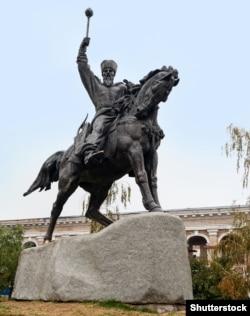 Пам'ятник гетьману Петру Конашевичу-Сагайдачному в Києві