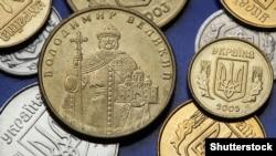 Монета із зображенням Київського князя Володимира