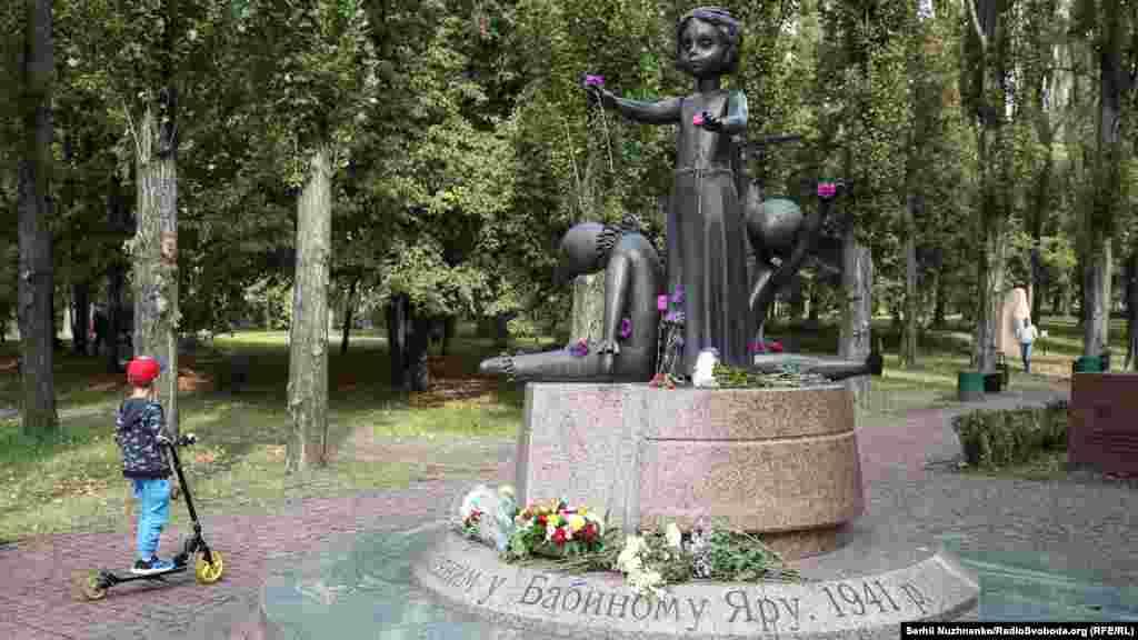 Пам'ятник знищеним у Бабиному Яру дітям