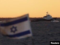 Izraelski vojni brodovi u luci Ashdod, 2011.