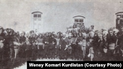 نخستین کنگره حزب دموکرات کردستان در پاییز سال ۱۳۲۴ خورشیدی.