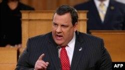 Крис Кристи, губернатор Нью-Джерси