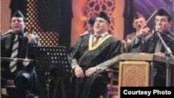 قارئ المقام حسين إسماعيل الأعظمي فرقة الجالغي البغدادي