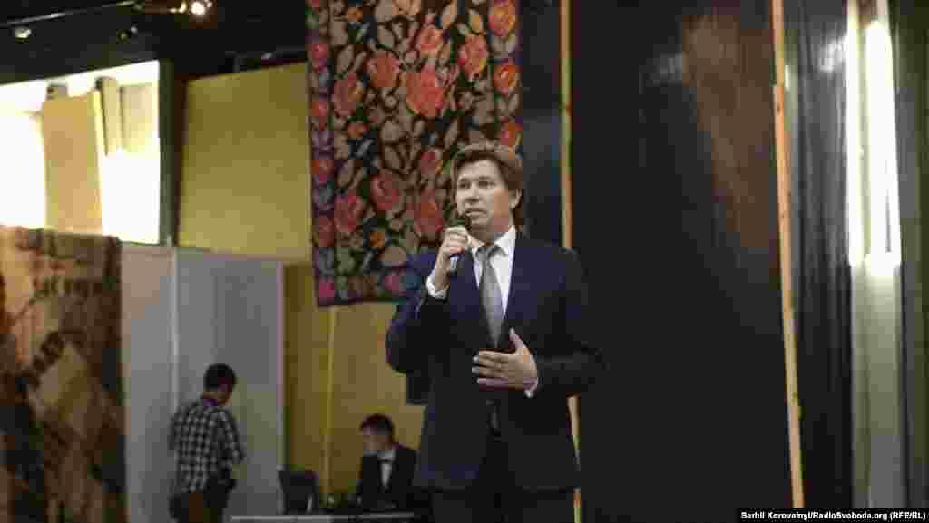 На відкритті виступив Ростислав Карандєєв, заступник міністра культури України