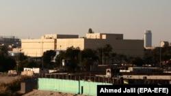 Objekti i ambasadës amerikane në Irak.