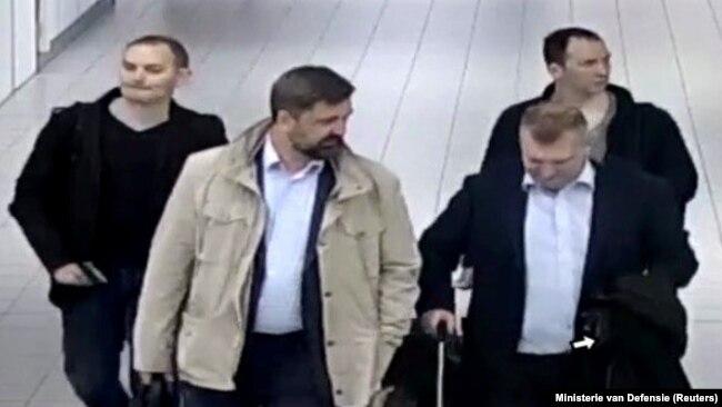 Четверо российских граждан, предположительно, пытавшихся совершить хакерскую атаку на Организацию по запрещению химического оружия