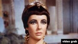 Էլիզաբեթ Թեյլորը Կլեոպատրայի դերում, 1963 թ.